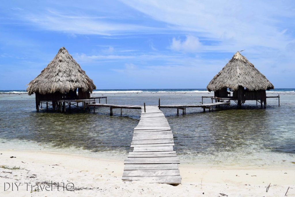 Over water bungalow on Glovers Atoll