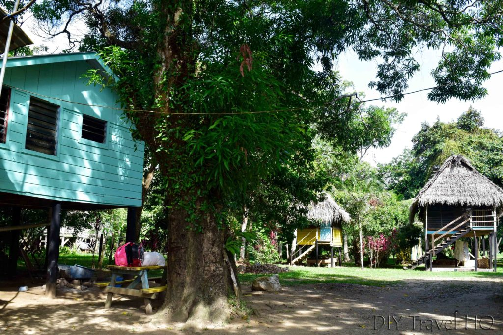 Glovers Guest House on Sittee River