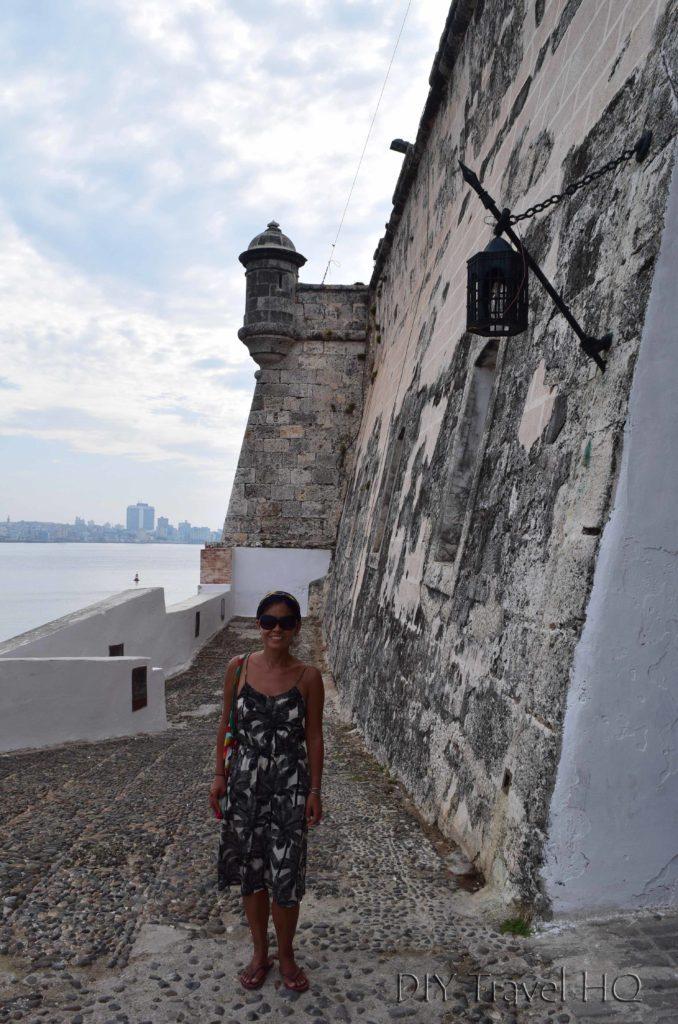 Havana Parque Historico Militar Morro-Cabana Castillo de los Tres Santos Reyes Magnos del Morro Entrance