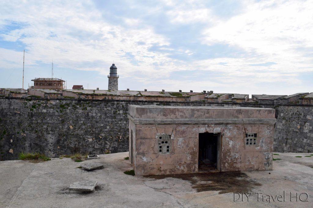 Havana Parque Historico Militar Morro-Cabana Castillo de los Tres Santos Reyes Magnos del Morro Lighthouse