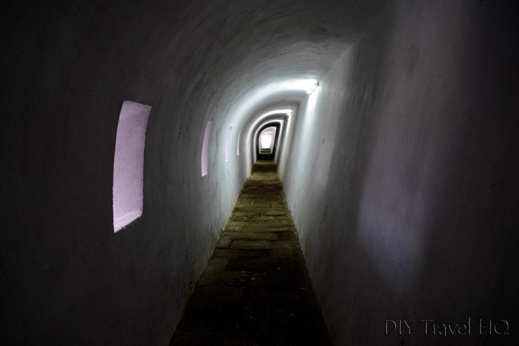 Havana Parque Historico Militar Morro-Cabana Castillo de los Tres Santos Reyes Magnos del Morro Tunnel