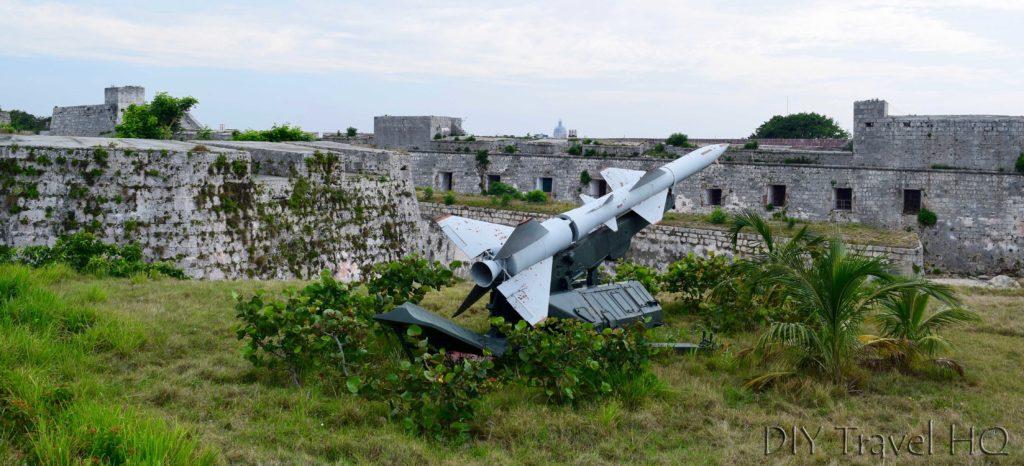 Havana Parque Historico Militar Morro-Cabana Fortaleza de San Carlos de la Cabana Weapon Arsenal Display