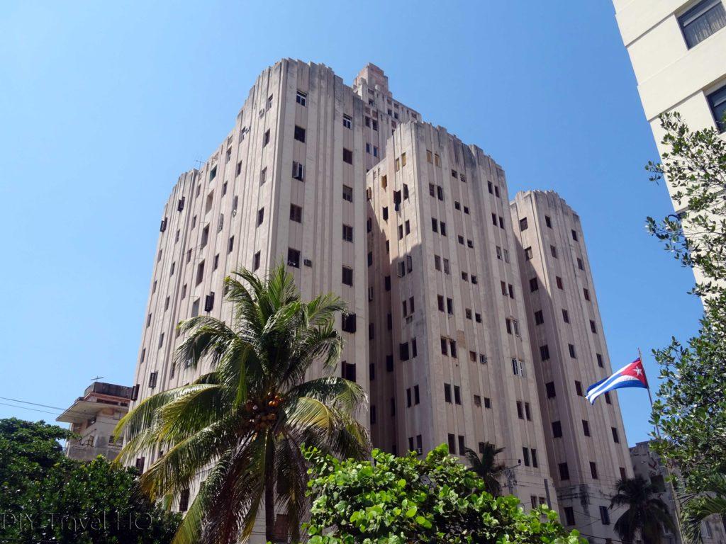 Havana Vedado Edificio Lopez Serrano