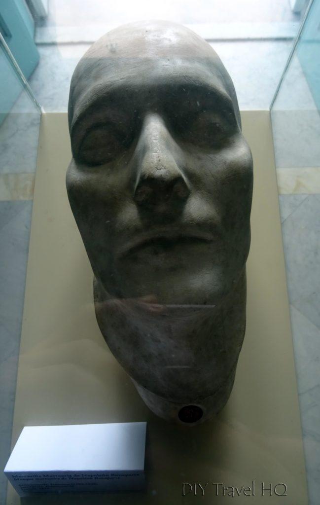 Havana Vedado Museo Napoleonico Napoleon Bonaparte's Cast Face Mask