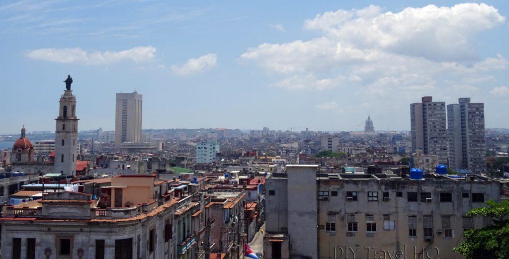 Havana Vedado Museo Napoleonico Terrace View