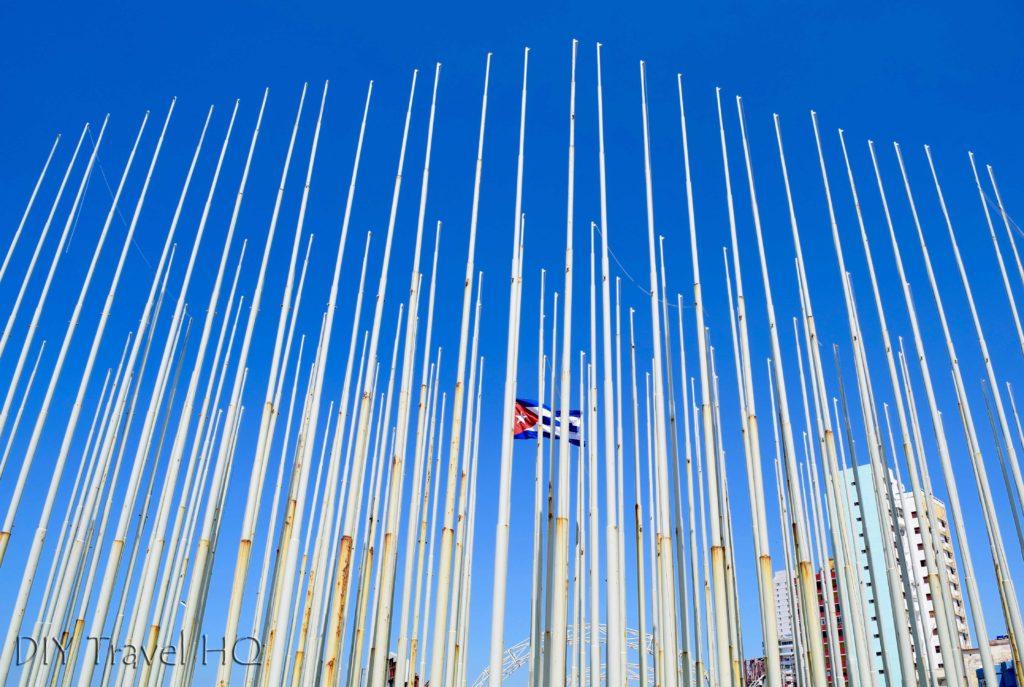 Havana Vedado Plaza Tribuna Anti-Imperialista