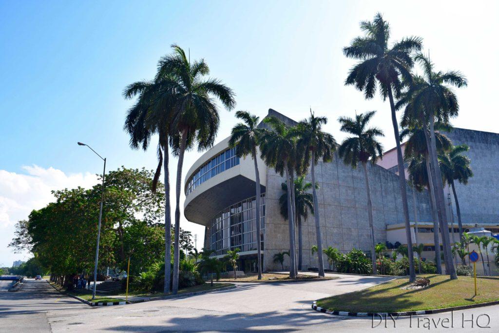 Havana Vedado Teatro Nacional de Cuba