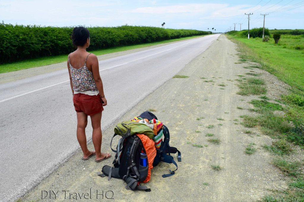 Hitchhiking to Santa Lucia