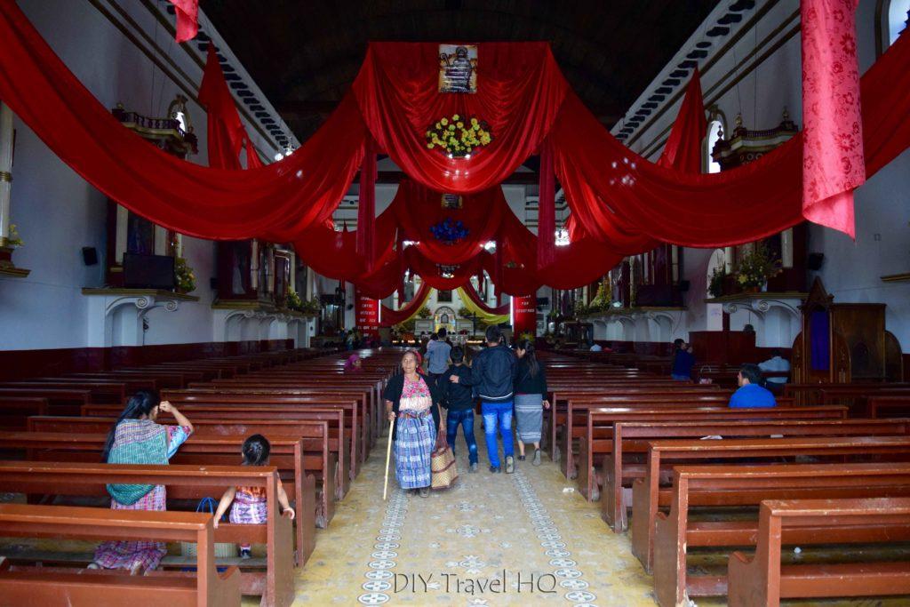 Momostenango Church Interior