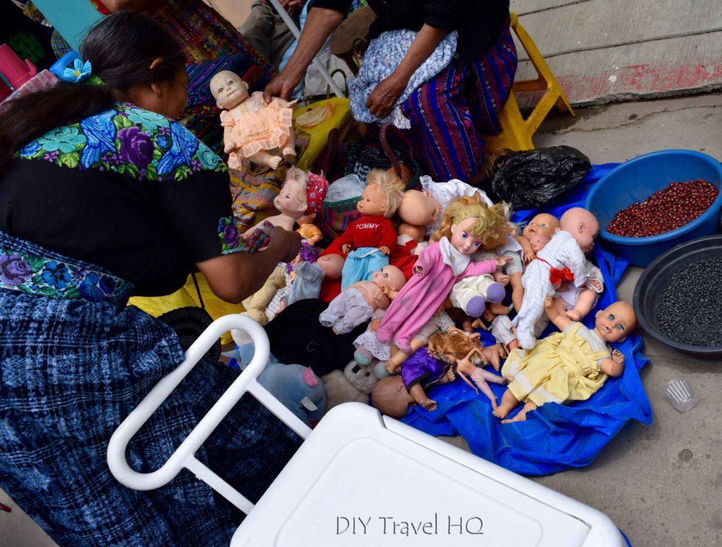 Momostenango Market Dolls