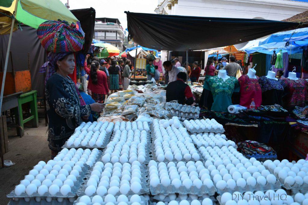 Momostenango Market Egg Vendor