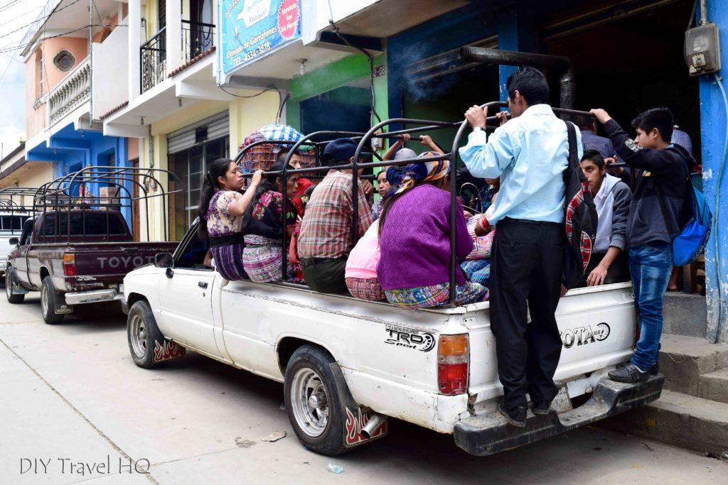 Momostenango Market Local Villagers