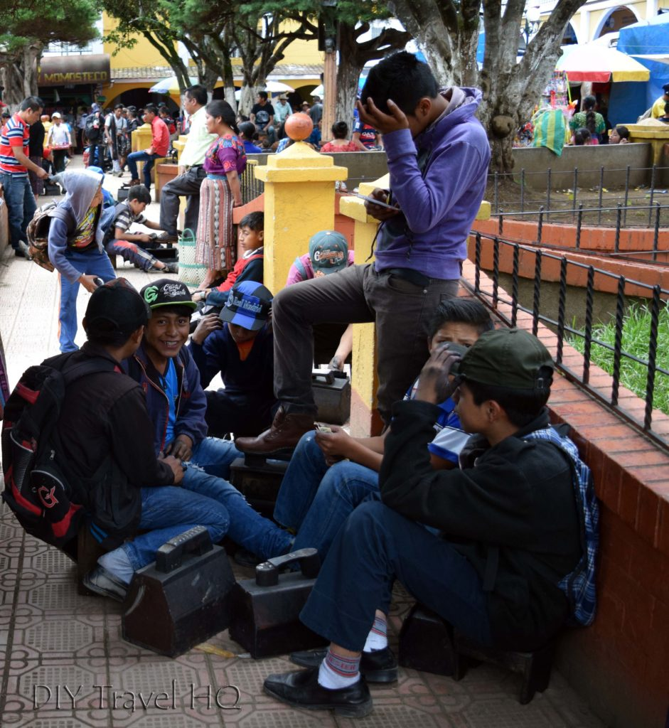 Momostenango Market Shoe Shiner Convention