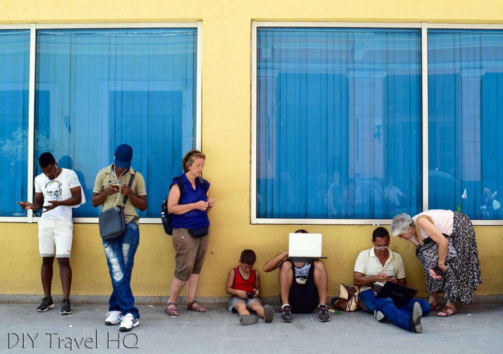 Old Havana Calle Obispo WiFi Hotspot