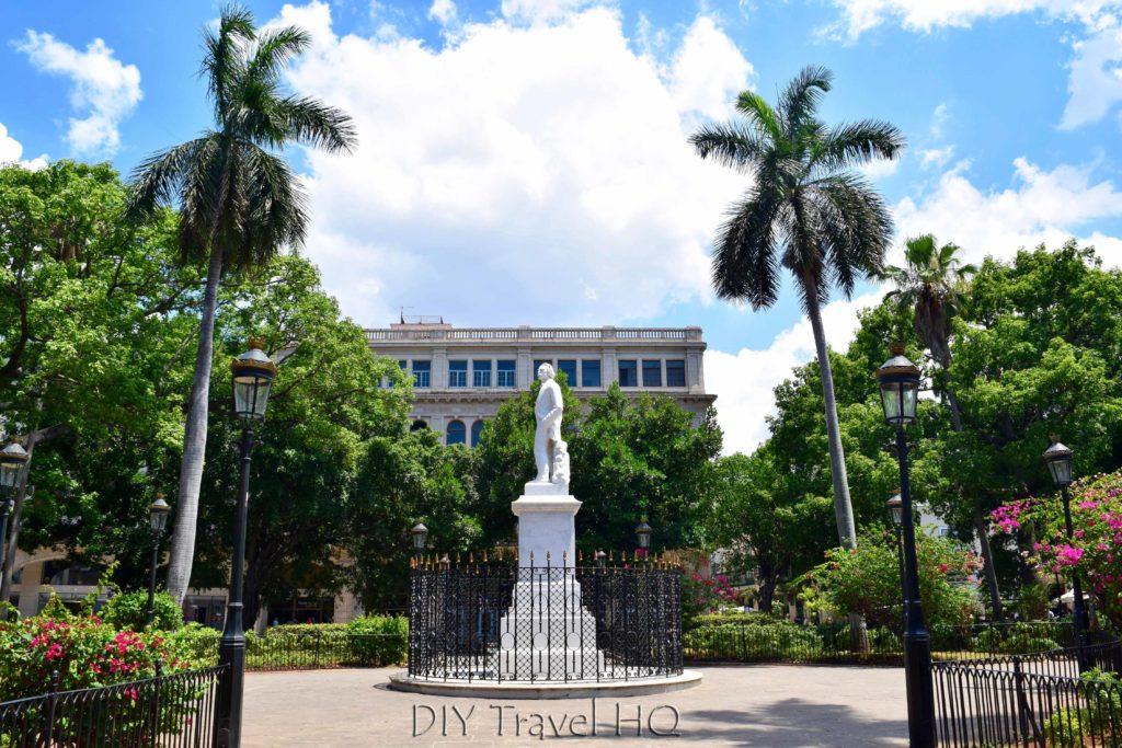 Old Havana Plaza de Armas Carlos Manuel de Cespedes Statue