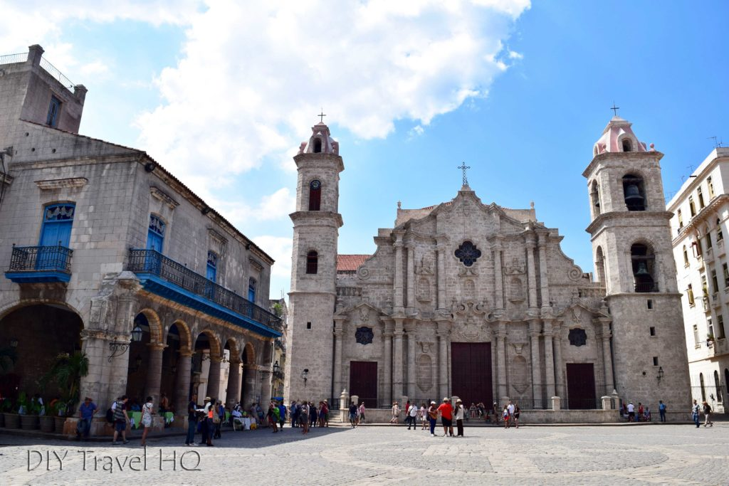 Old Havana Plaza de la Catedral