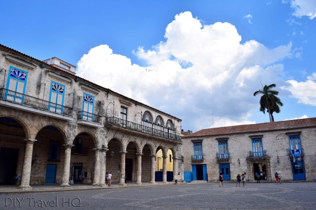Old Havana Plaza de la Catedral Palacio de los Condes de Casa Bayona and Museo de Arte Colonial and Casa de Lombillo and Palacio del Marques de Arcos