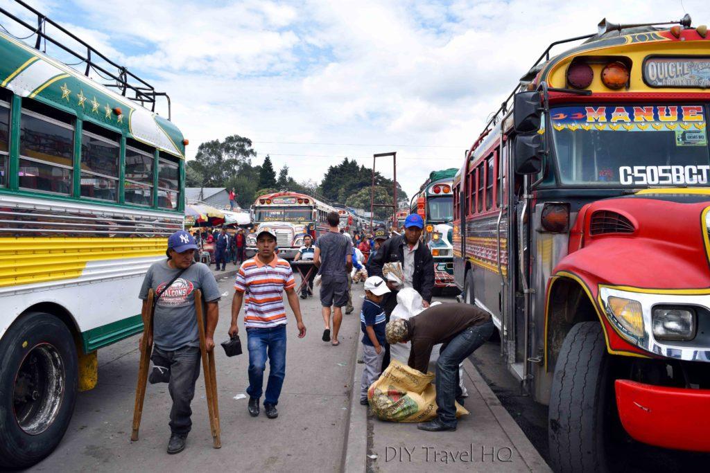Quetzaltenango (Xela) Minerva Chicken Bus Terminal