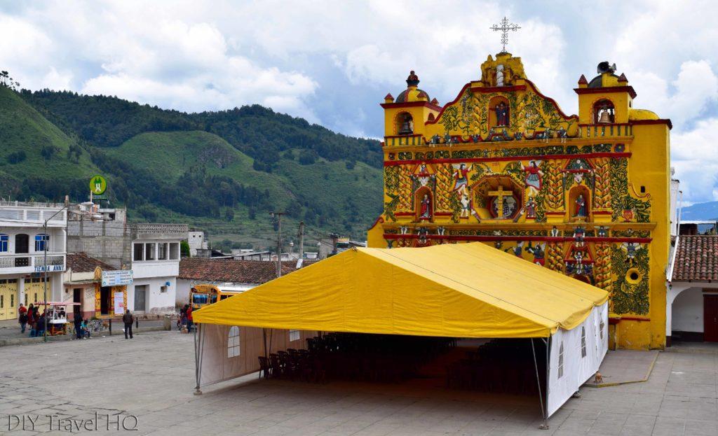 San Andres Xecul Iglesia del Calvario
