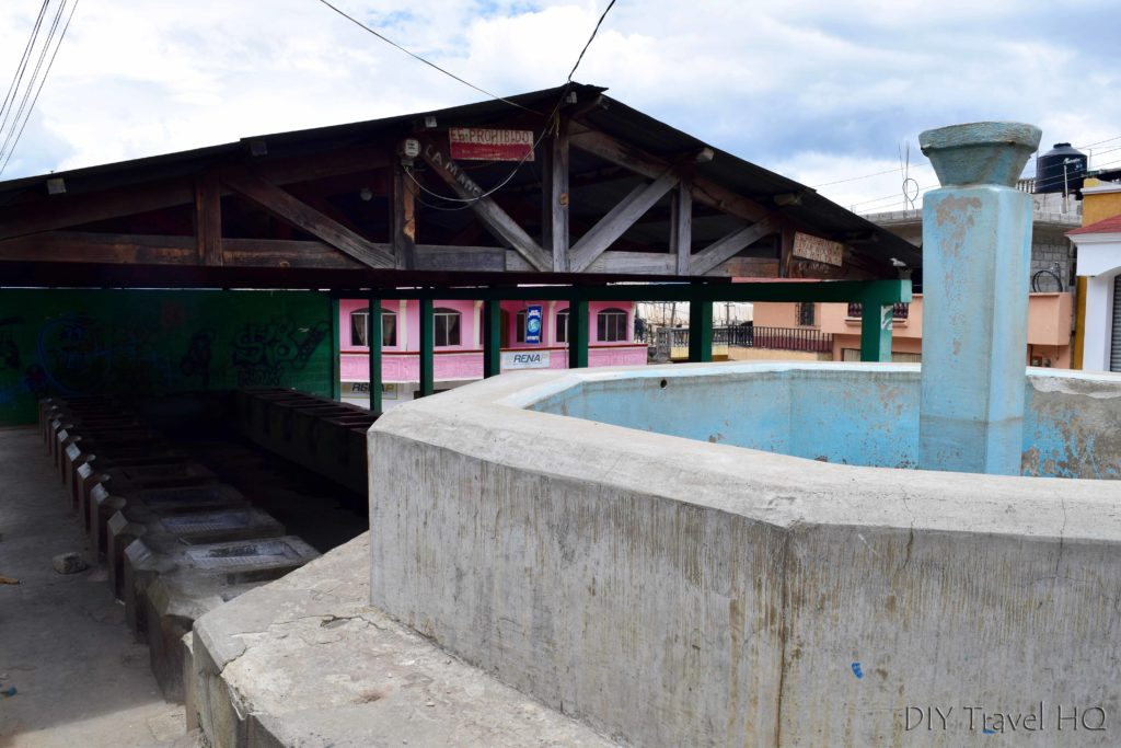 San Andres Xecul Washing Station