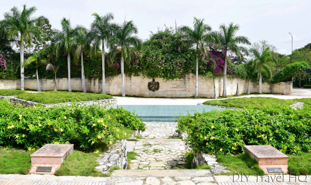 Memorial Garden at Che Guevara monument
