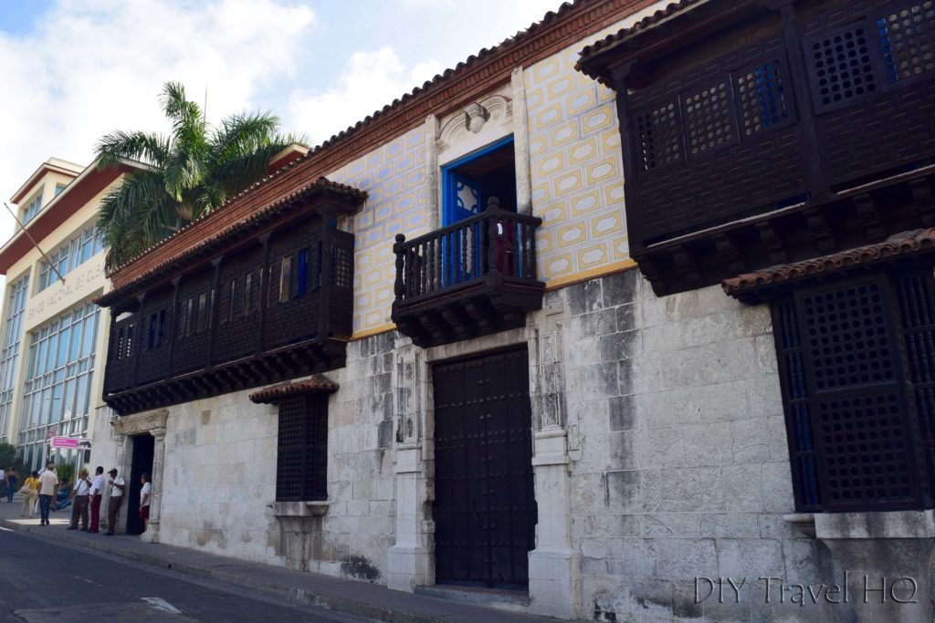 The oldest house in Cuba