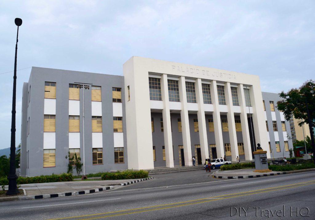 Palacio Justicia in Santiago de Cuba
