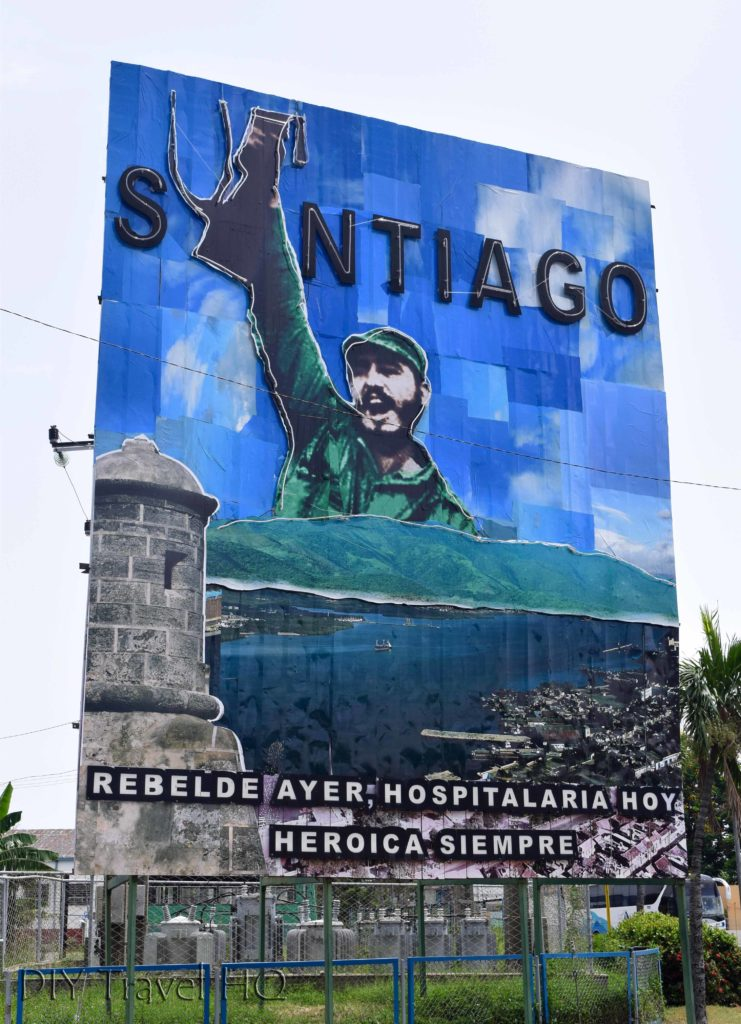 Revolution propaganda Santiago de Cuba