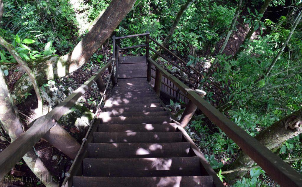 Semuc Champey Wood Stairs