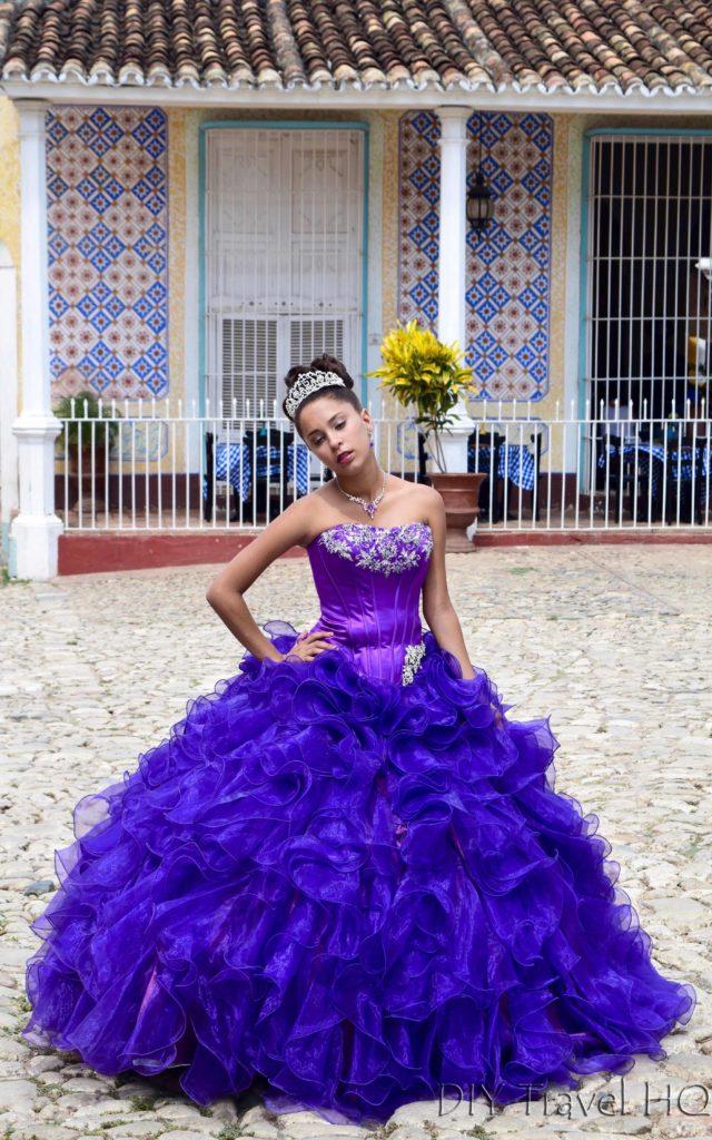 Model in Trinidad Cuba