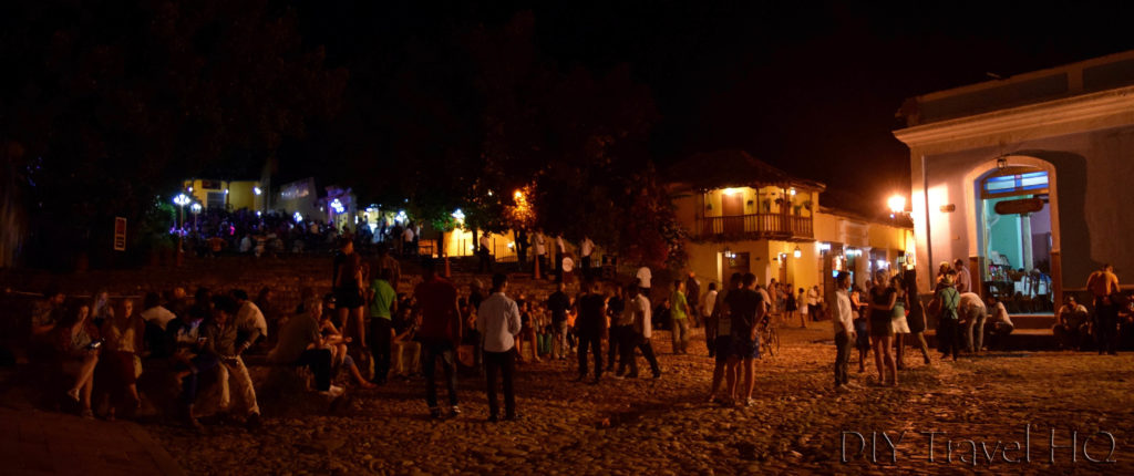 Trinidad Nightlife in Cuba