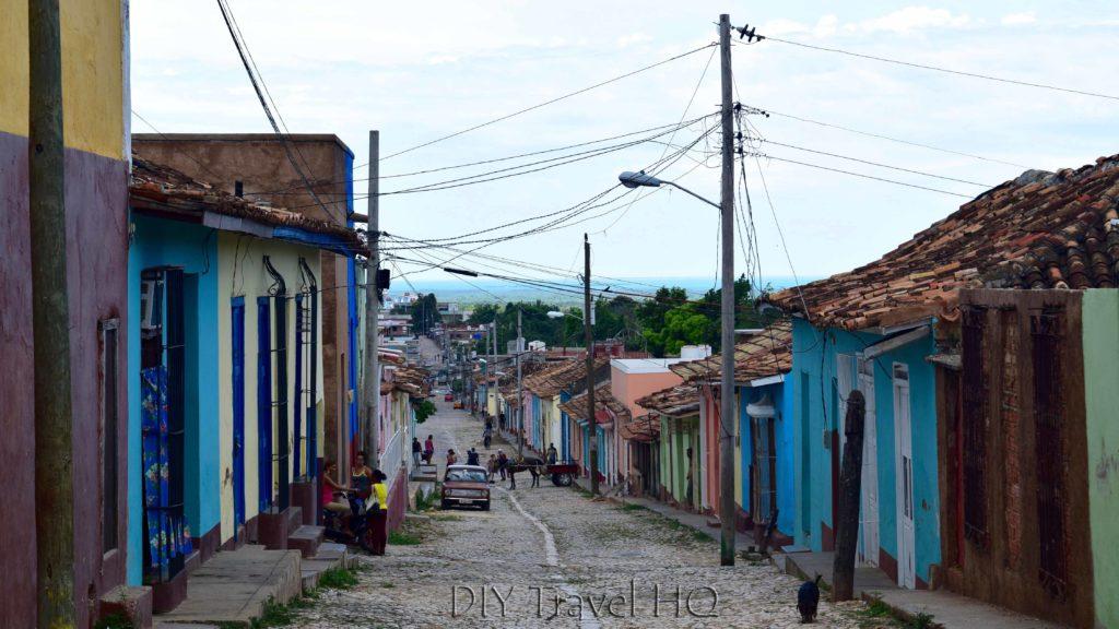 Historic streets of Trinidad