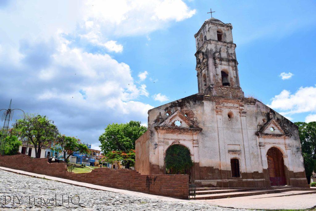 Church on Plaza Santa Ana