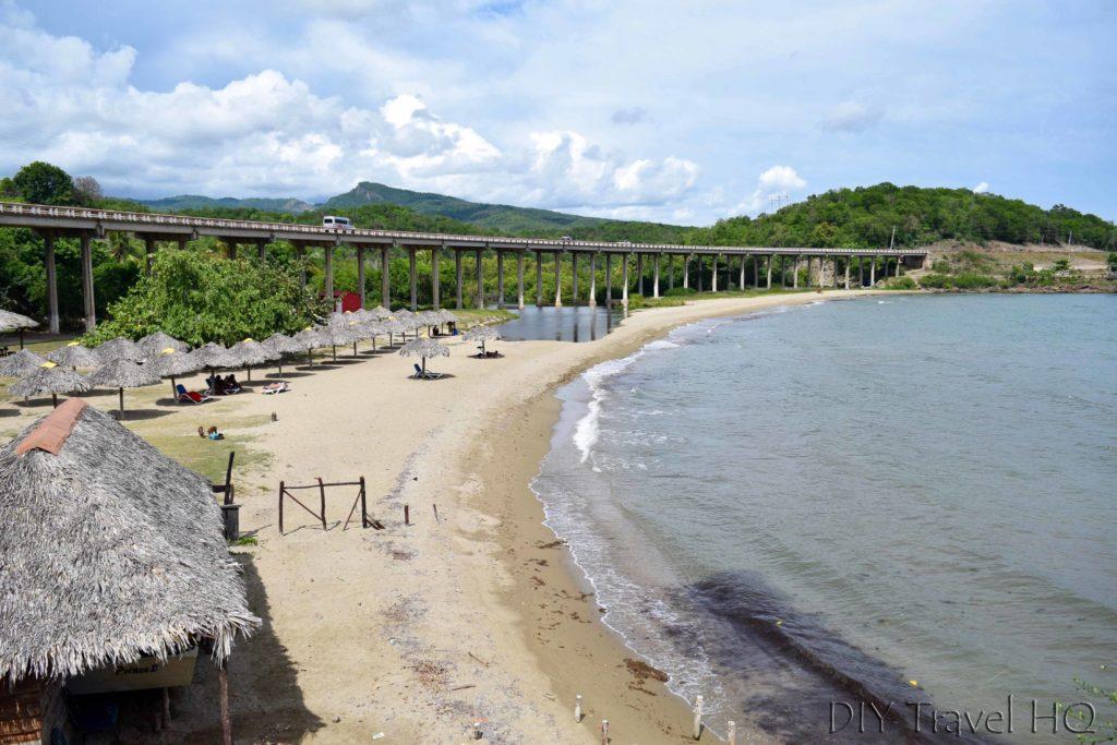 Yaguanabo beach Trinidad