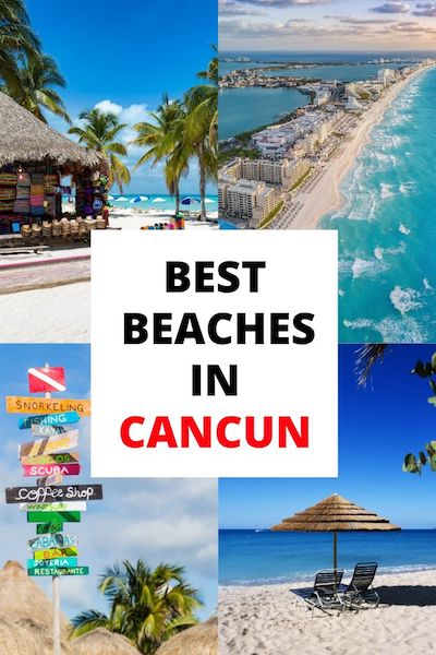 There are so many things to do in Cancun, Mexico - but you can't beat the beaches. Check out our post for expert tips and photos of the top beaches in Cancun! #yucatan #mexicotravel #cancun