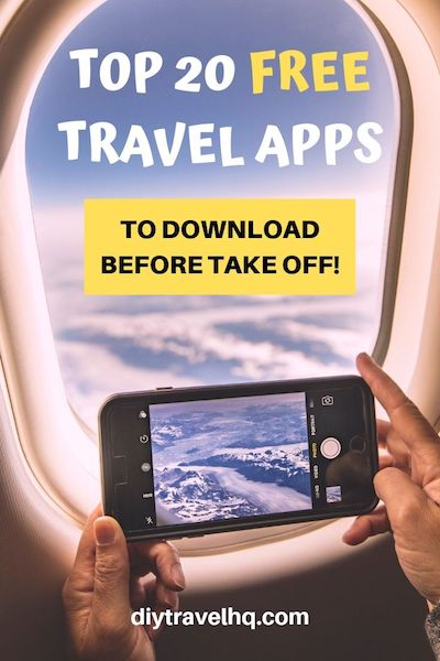 Planning a road trip or Europe vacation? No matter where you're going travel apps make life on the road easier and cheaper! Find out the best travel apps that you can download for free before you leave! #travelapps #traveltips #diytravel