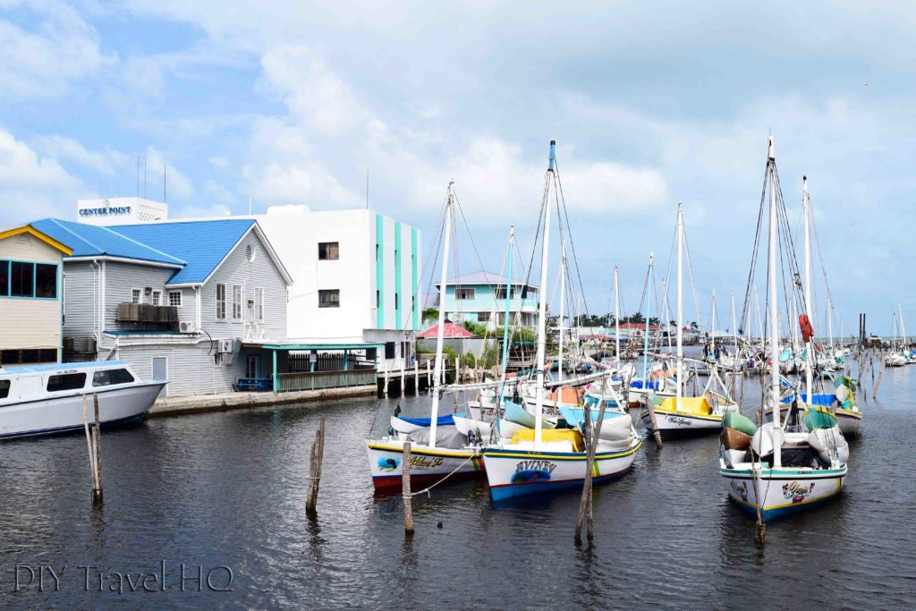 Yachts in Belize City