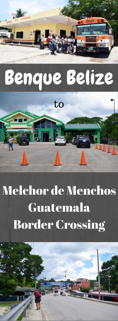Benque to Melchor de Menchos Border Crossing