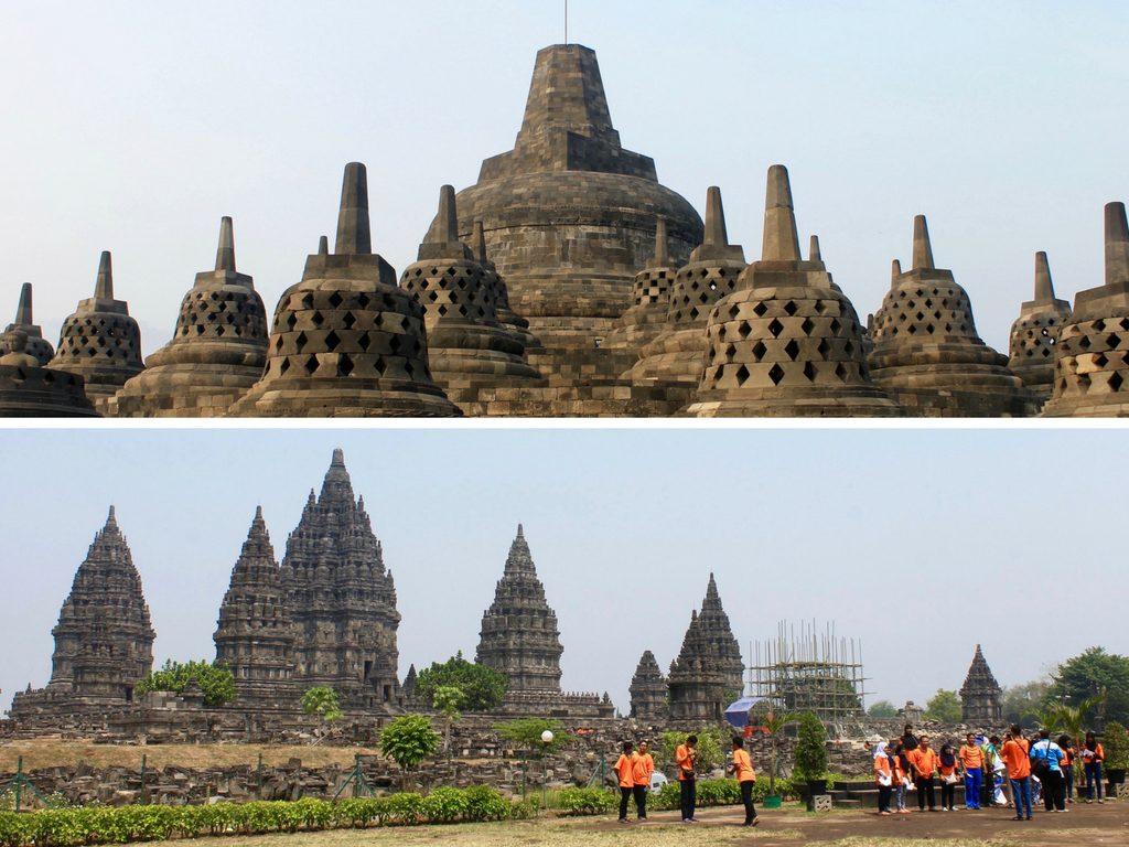 Borobudur & Prambanan