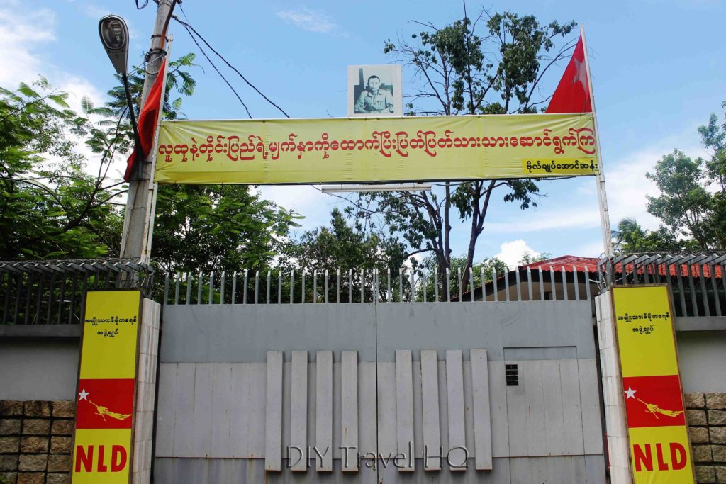 Aung Sun Suu Kyi's house in Yangon