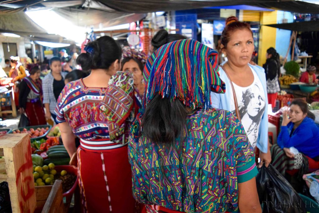 Guatemala attractions Nebaj market