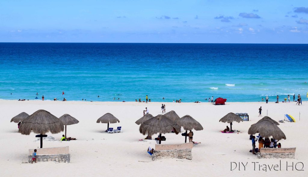 Delphine Beach in Cancun