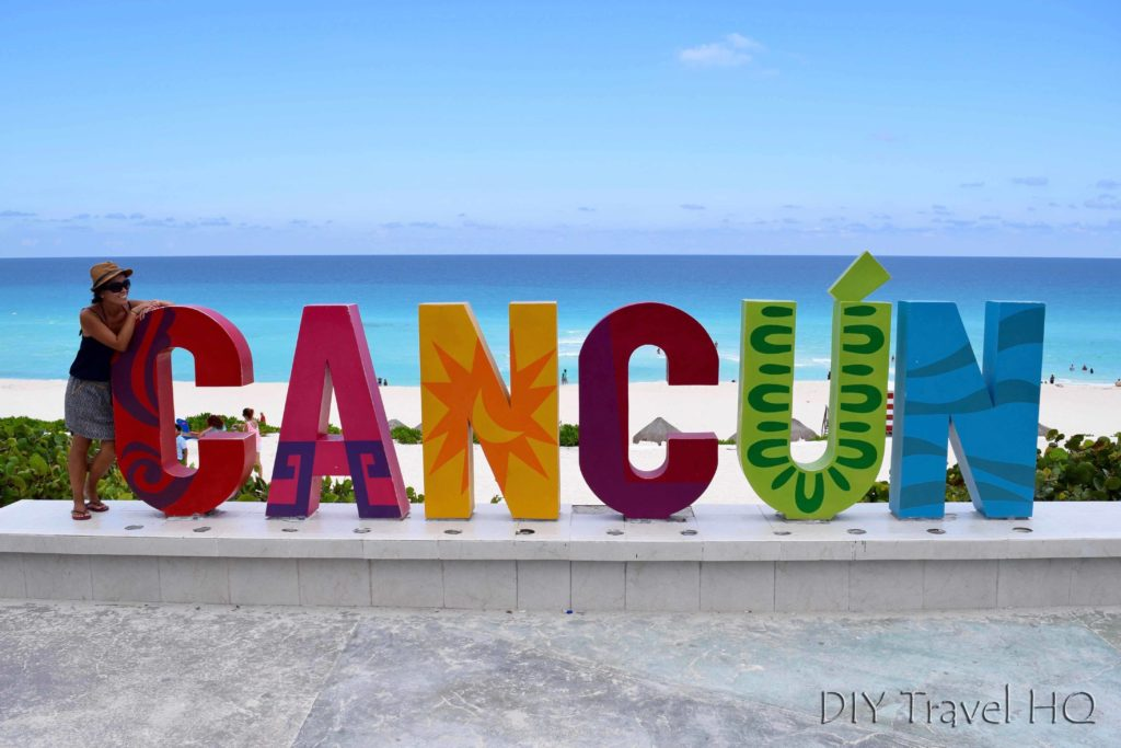 Cancun Sign at Playa Delphine