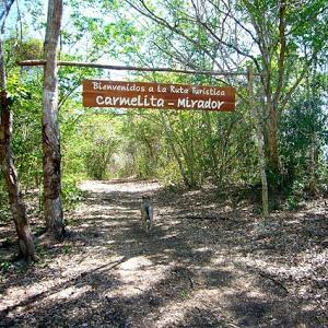 Carmelita Entrance to El Mirador Hike