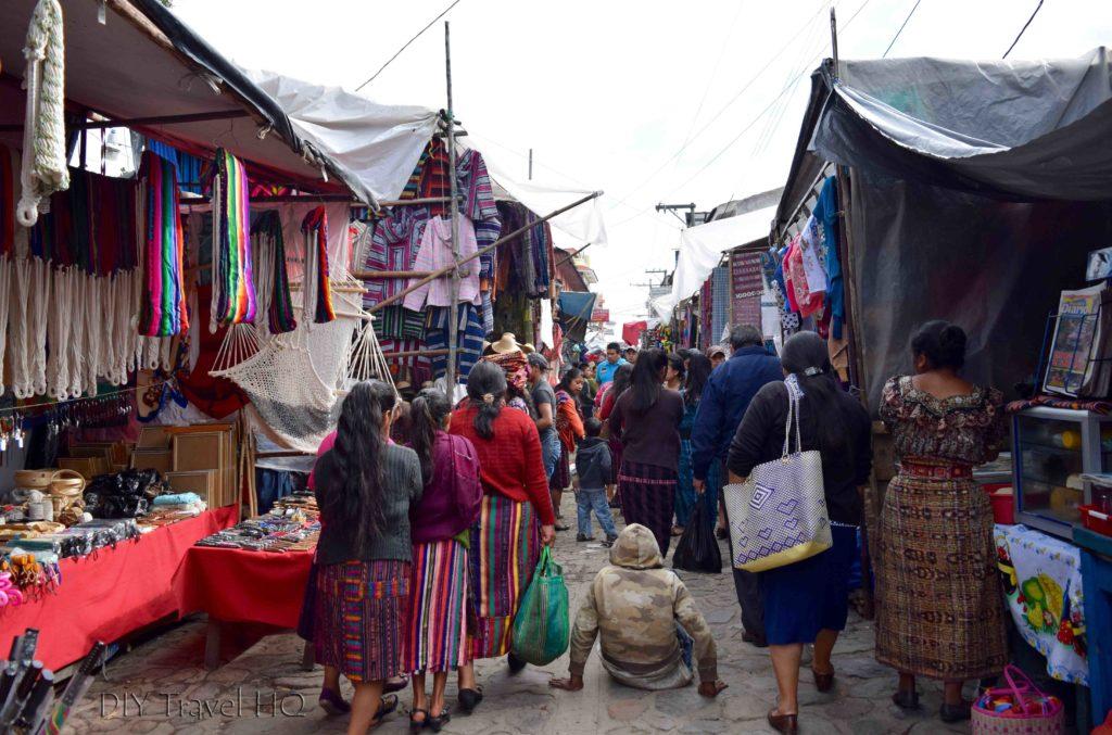 Chichicastenango Busy Sunday Market