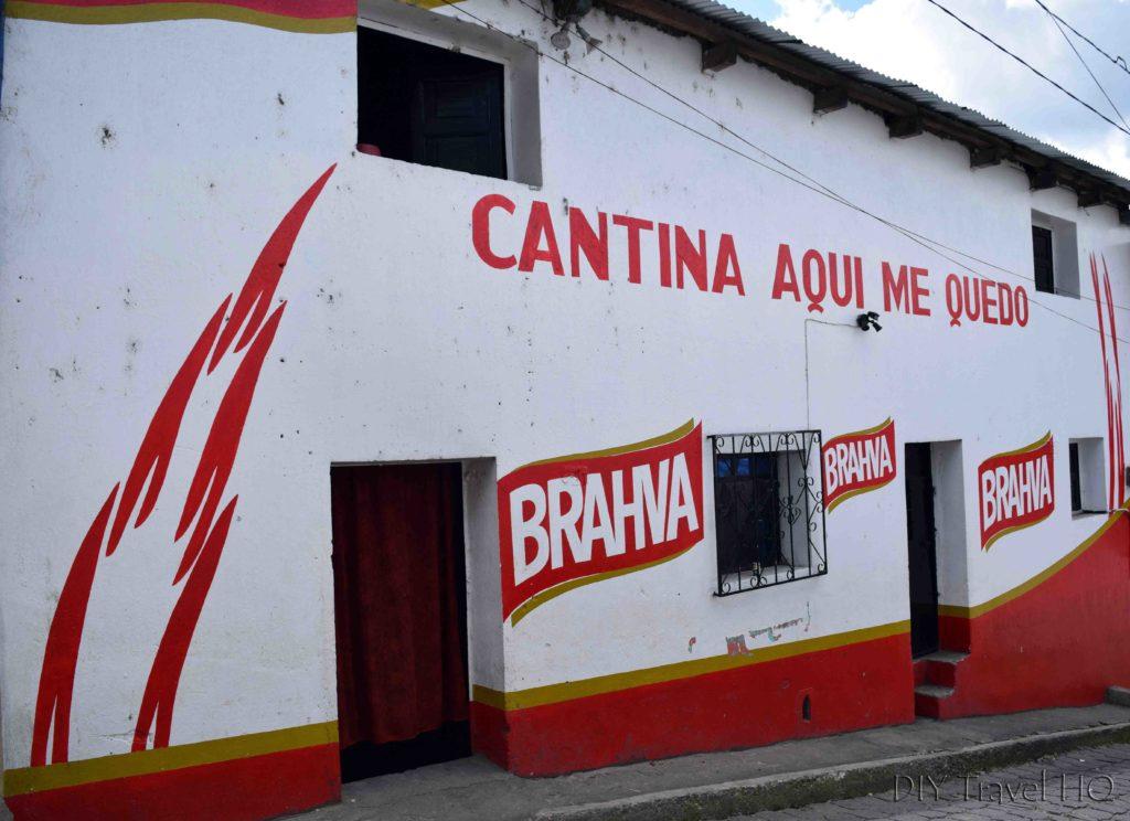 Chichicastenango Cantina Aqui Me Quedo