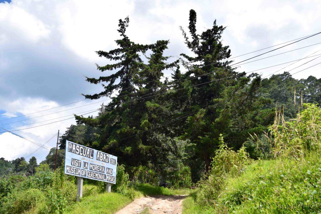 Chichicastenango Entrance to Pascual Abaj