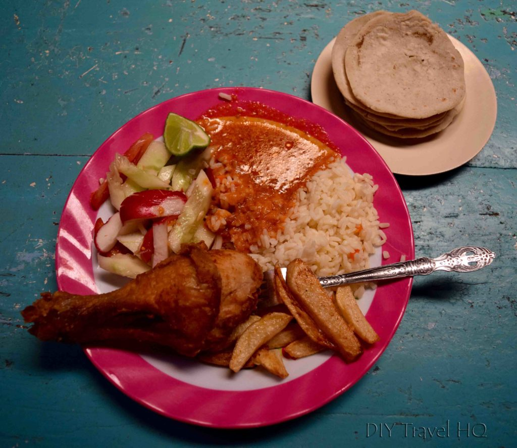 Chichicastenango Fried Chicken Set Meal
