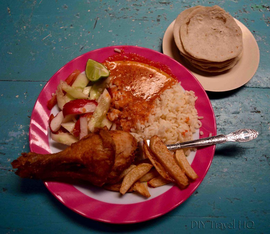 Chichicastenango Fried Chicken Set Meal