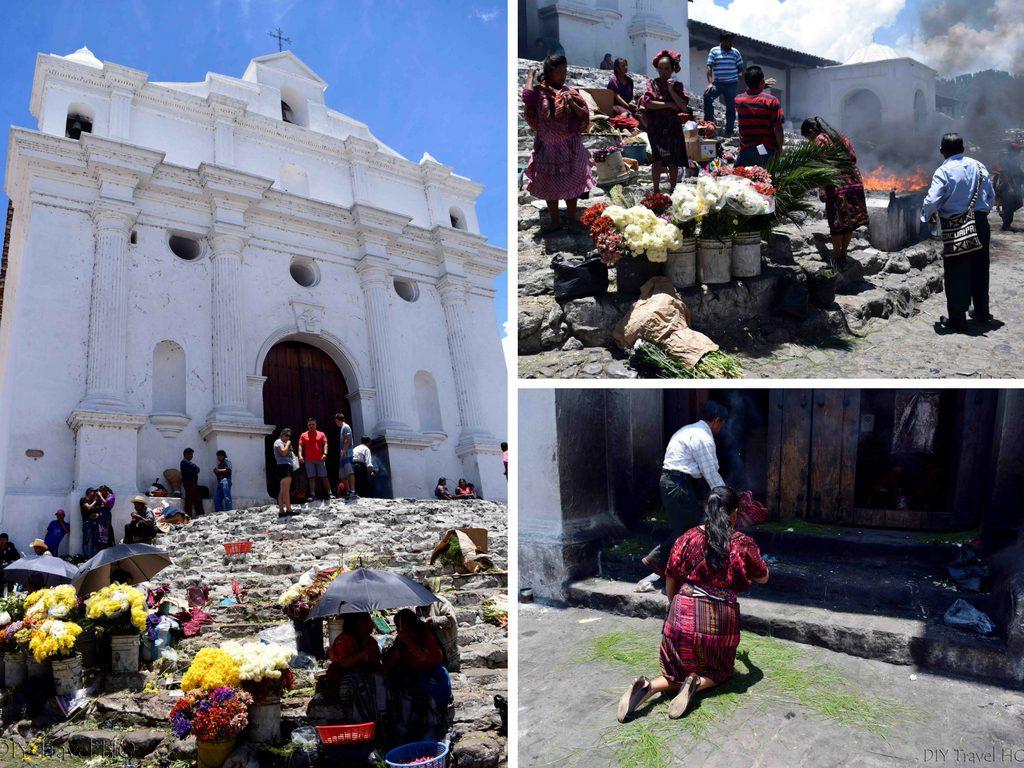Chichicastenango Iglesia de Santo Tomas